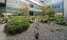 Gorbea 4 Atriums by Studio Urquijo-Kastner Landscape Architecture