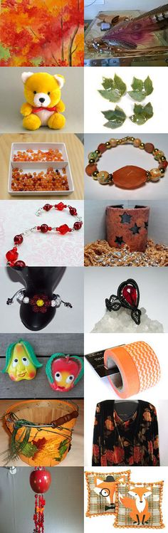 SURE SIGNS OF FALL........................Gratitude Treasury by Pat Peters on Etsy--Pinned+with+TreasuryPin.com