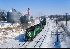 RailPictures.Net Photo: BNSF 7208 Burlington Northern Railroad EMD SD40-2 at…