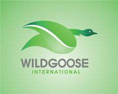 WILDGOOSE Logo design - This logo is ideal for a business related to: animal conversation, park, canadian theme, wild life park, environment theme, zoo, beauty blog, perfume or cosmetic site or products, seaside retreat, ocean front spa or salon, hair care product line, marketplace to find artisan- and hand-crafted fair trade jewelry, art, restaurant, boudoir photographer, model or modeling agency, women's apparel or lingerie, cosmetics, accessories and scarves, gifts and retail, female…