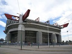 San Siro, The home of Inter and A.C Milan