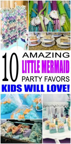 52 ideas for music party favors diy goodie bags Mermaid Party Favors, Boy Party Favors, Mermaid Gifts, Party Gift Bags, Diy Party, Party Gifts, Party Ideas, Fun Ideas, Diy Gifts