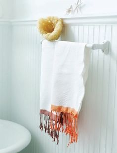 Sweet Paul's Dip-Dye Hand Towels #DIY