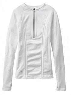Athleta Women's Tracker Top White | Clothing