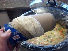 Crock Pot Chicken N Dumplins- tastes more like a pot pie but still very yummy