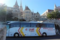 One of our 5 star coaches in all of its glory through Europe! *Expat Explore South Africa*