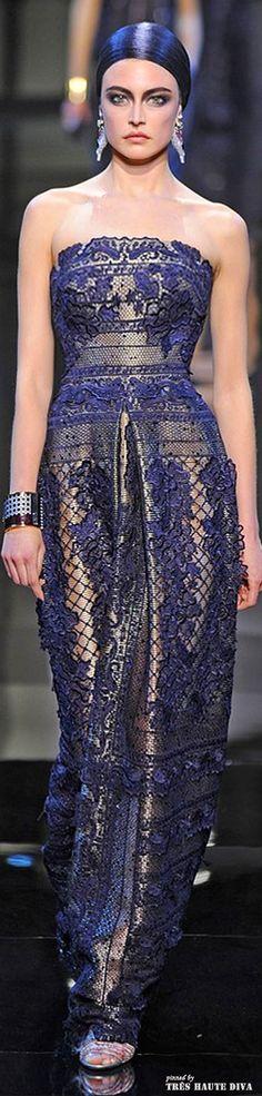 Giorgio Armani Privé Couture Spring 2014 http://www.wwd.com/runway?module=tn | The House of Beccaria