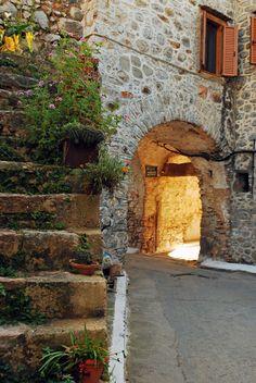 Mesta village - Chios island, Greece