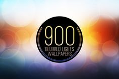 900 Blur Wallpapers (Blurred Lights) by OutSorsa on @creativemarket
