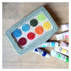 idée trousse from Isabelle Kessedjian: The serial crocheteuse pour Mango n°17