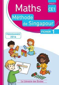 Maths : Méthode de Singapour CE1 fichier 1 (à feuilleter)