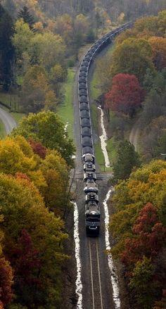 Keystone Coal Train.. (by Norfolk Southern on Flickr)
