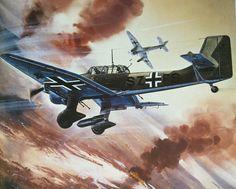 Roy Cross - Junkers Ju 87B Stuka