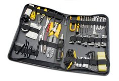 Amazon.com: 100 Piece Computer Technician Tool Kit for Repairing, Wiring, Cleaning, and Testing: Electronics