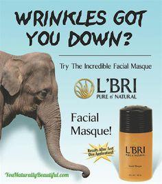 LBRI Facial Masque - Non-Surgical Face Lift. L'Bri Facial Masque is an intensive healing, toning and deep cleansing treatment. www.YouNaturallyBeautiful.com