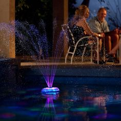 create your own Las Vegas light show in your backyard pool. (can be synchronized to audio)