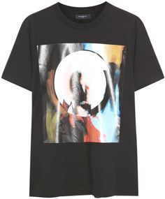 Givenchy Printed cotton T-shirt on shopstyle.co.uk