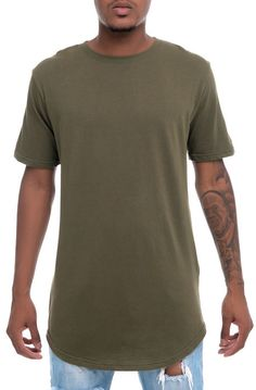 d06cc3d377 High Caliber Tee Elongated Classic Olive Green - Karmaloop.com Urban  Outfits