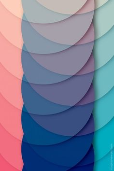 Overlapping circle wallpaper l