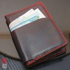 Бумажник (для документов, кредиток, купюр) - ручная работа