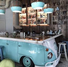 bar of a bar - Design resturant -Original bar of a bar - Design resturant - Car Part Furniture, Automotive Furniture, Automotive Decor, Automotive Group, Furniture Design, Design Bar Restaurant, Deco Restaurant, Coffee Shop Design, Cafe Design