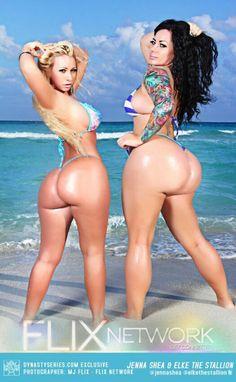 Jenna Shea And ElkeTheStallion