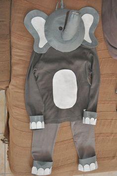 Idée costume éléphant, sans le masque!
