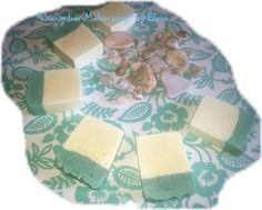 Cucumber yogurt soap by Eleni by ElenisLittleShop on Etsy