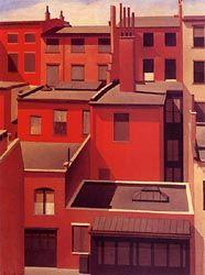 "MacDougal Alley 1922 Charles Sheeler ""Precisionnisme"""