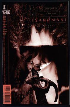 DC Comics Vertigo Press SANDMAN #59 Neil GAIMAN Hellblazer Shade Supernatural Magic Gothic Horror Anti-Super Hero Goth