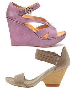 In love with these lavender platforms.