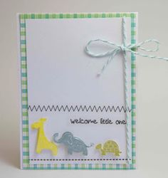 Homemade Cards by Erin: Friday Cards, congrats times 4