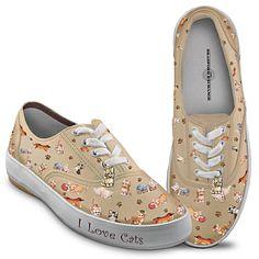 Kitten Capers Canvas Sneakers