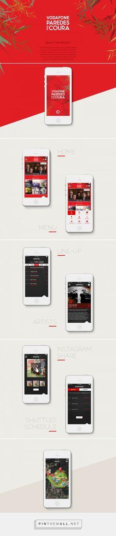 Client: VodafoneAgency: Bliss ApplicationsIOS Android app For Paredes de Coura music Festival. Mobile Application Design, Mobile App Design, Mobile Ui, Ui Ux Design, Interface Design, Site Design, Branding Website, Plait, App Ui