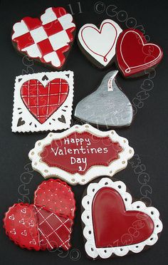Happy Valentines Day Cookies
