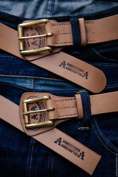 Belt for a man. Vegtanned leather, handcrafted. Available for order. Купить Ремень мужской - бежевый, мужской подарок, мужчине, аксессуары из кожи, ремень из кожи