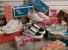 Inspired by our original factory and our California roots. Shop the Anaheim Checkerboard Pack on vans.com.