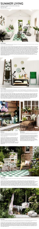 Summer Living | Dalani Home & Living Magazine