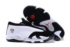 d90dd7f49ca Air Jordan 14 XIV Retro Low Black Toe White And Black Gym Red GJjfP. Buy  JordansNew ...