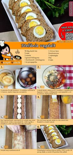 No Salt Recipes, Meat Recipes, Cooking Recipes, Hungarian Recipes, Beef Dishes, Food To Make, Good Food, Food Porn, Food And Drink