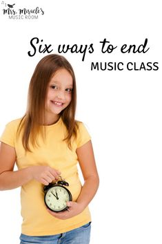 Six ways to end music class: Helpful ideas, including solo singing, listening, and more!