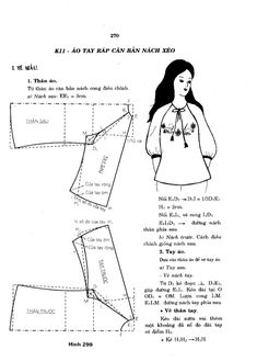 Elegant Photo of Custom Sewing Patterns Blouse Patterns, Sewing Patterns, Sewing Blouses, Japanese Sewing, Fashion Design Drawings, Pattern Drafting, Ao Dai, Sewing Techniques, Designs To Draw