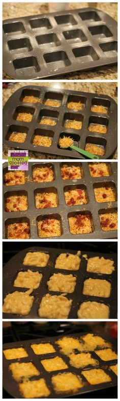 Loaded Mac & Cheese Cups with Cheddar & Bacon Kraft Fresh Take