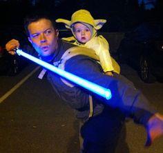 Train you must, Jedi father