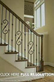 67 Sensational Stair Railing Ideas With Images Wrought Iron