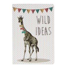Giraffe Pocket Notebook | Stationery & Notebooks | Sass & Belle