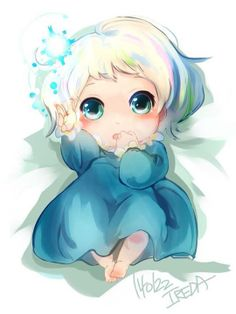 Frozen~This is my baby. She makes me happy all the time. Her dad is a guardian. We created her with our powers. ~ *Queen Elsa of Arendelle*