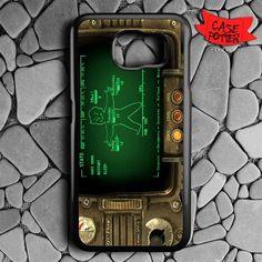 Fallout Pipboy Rainmeter Samsung Galaxy S7 Black Case