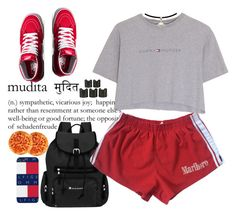 ✨ by monroemaree on Polyvore featuring polyvore, Hilfiger, Vans, Sherpani, 8 Other Reasons, fashion, style and clothing