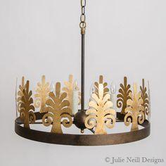 Julie Neill Designs - Fine Lighting Handcrafted in New Orleans Handmade Chandelier, Copper Accessories, Arch Doorway, Outdoor Walkway, Sleeping Porch, Transitional Chandeliers, Lighting Companies, Neutral Walls, The Ranch